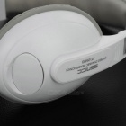 SENICC ST-2688 3.5mm Wired Headband Headset w/ Mic - White + Grey