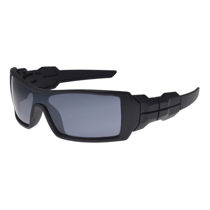 UV400 Protection Sports Cycling Driving Sunglasses - Black + Gray
