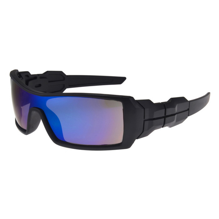 UV400 Protection PC Sports Cycling Driving Sunglasses - Blue Revo