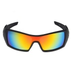 UV400 Protection PC Sports Cycling Driving Sunglasses - Red REVO