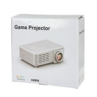 LED 40lm Projector w/ USB / HDMI / VGA / AV / SD / TV / DC IN - Black