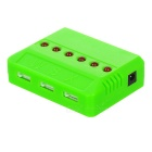 Universal 1-to-6 Charger + Adapter + Cable + More Set - Green