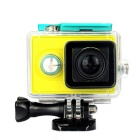 Waterproof Camera Case for Xiaomi Xiaoyi Camera - Black + Transparent