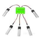 X5A-C01 5 x 3.7V 200mAh Batteries + 1 to 5 Charger + TOL Adapter + Charger + Data Cable Set