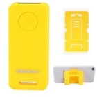 KINGMAX KBS-01 Bluetooth Selfie Remote Control for Smartphones / Tablets - Yellow (1 x CR2032)
