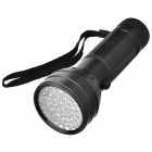 KINFIRE UV Light Purple 51-LED Flashlight Money Detector Light - Black