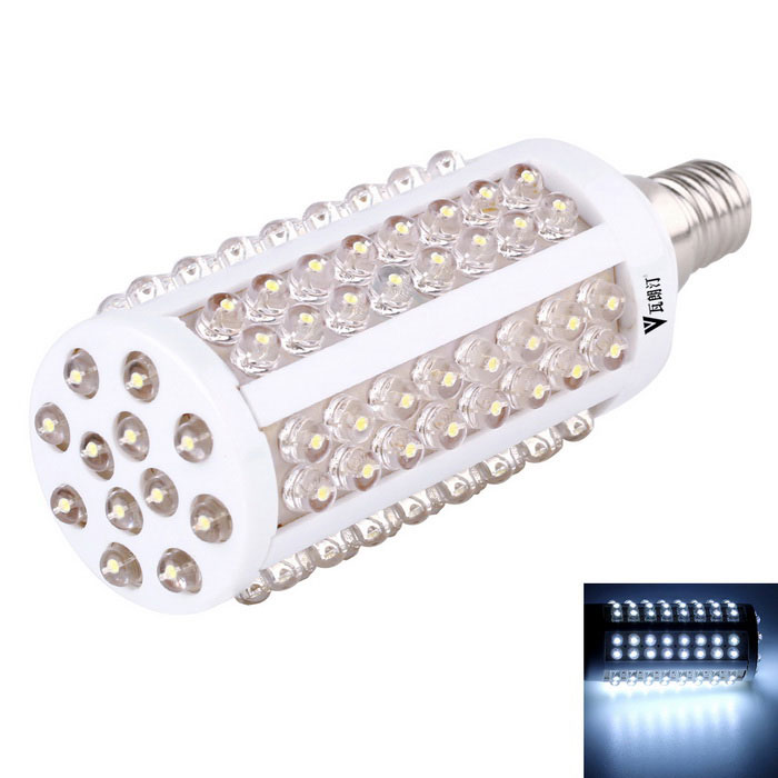 walangting E14 3W LED maïs lamp wit licht 220lm 108 SMD LED-lamp