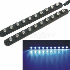 CARKING Waterproof Flexible Eagle-eye 10-Blue-LED Car Decorative Daytime Running Light (2PCS / 12V)