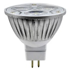 JIAWEN MR16 3W branco frio 300lm 3-LED spotlight (dc 12V / 2PCS)