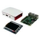 Raspberry Pi 2 Model B + Official ABS Case + 2.2 inch (340 x 320) High PPI LCD Kits