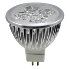 Jiawen MR16 4W 4 LED 400lm 6500K luz blanca Luz puntual regulable