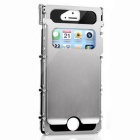 ARMOR KING 1-Window Full Body Case for IPHONE 5S - Silver