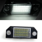 Qook 1.4W 18-LED Number License Plate Lamps Cold White 120lm (2PCS)