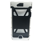 ARMOR KING 1-Window Full Body Case for IPHONE 5S - Silver + Black