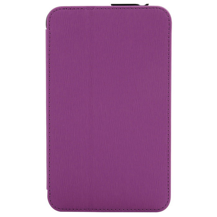 Toothpick Grain Protective Case for Samsung Tab 3 Lite - Purple+Black