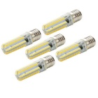 E17 7W Dimmable LED Corn Bulb Warm White Light 3000K 840lm 152-SMD 3014 (AC 110V / 5 PCS)