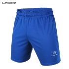 LINGSAI LS01D Men's Sports Quick-Dry Pants Shorts - Blue (XXL)