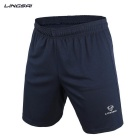LINGSAI LS01D Men's Sports Quick-Dry Pants Shorts - Navy Blue (L)