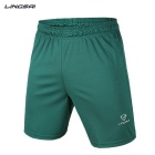 LINGSAI LS01D Men's Sports Quick-Dry Pants Shorts - Green (XL)