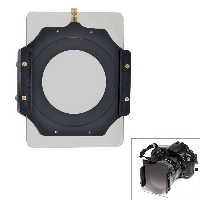 EOSCN 150*100mm Gradient / Full Color ND2 Filters,Holder for 72mm LensLenses Accessories<br>Form ColorBlackMaterialResin + ABS + aluminum alloyQuantity1 DX.PCM.Model.AttributeModel.UnitCompatible BrandUniversalCompatible ModelsUniversalLens Diameter72mmCertificationCEPacking List1 x Color filter holder1 x 72mm ring adapter1 x ND2 filter1 x ND2 gradient filter<br>