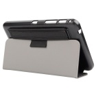 "Toothpick Grain PU Case w/ Stand for Samsung Tab 4 7"" T230 - Black"