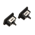 Qook 1.44W White LED License Plate Light for BENZ GLK X204/350 (2PCS)