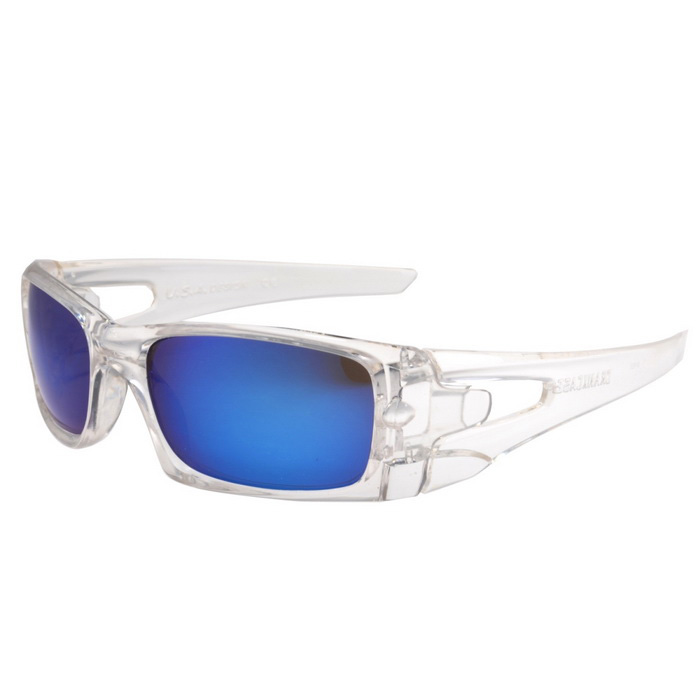 UV400 Protection PC Sports Cycling Driving Sunglasses - Transparent