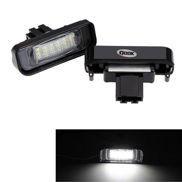 Qook 1.44W LED License Plate Light for BENZ W220 S-class Canbus (2PCS)