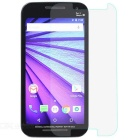 Tempered Glass Screen Protector for Moto G - Transparent (3rd Gen)