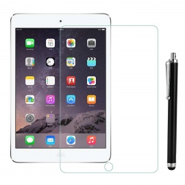 Tempered Glass Screen Protector w/ Stylus for IPAD MINI - Transparent