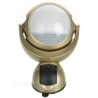 Mini Suction Cup IR Body Sensing 1.2W LED Lamp White2-SMD - Golden