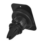 Universal Magnetic Suction Car Air Vent Phone Mount Holder - Black