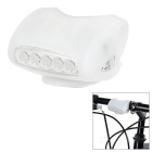 Bicycle Bike Cycling 7-LED 3-Mode Cool White Light Lamp - White