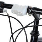 Bicycle Bike Cycling 7-LED 3-Mode Cold White Light Lamp - White