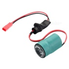 3W 7~17V Green JST Female Connector LED Night Flying Head Light for Multicopter Aircraft - Green