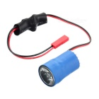 3W 7~17V Blue Light JST Female Connector LED Night Flying Head Light for Multicopter Aircraft - Blue