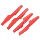 Main Blade Propeller Spare Parts for Syma X5C - Red (4pcs)