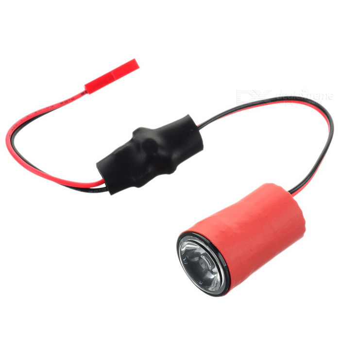 3W Red JST Female Connector LED Night Light for Multicopter - Red