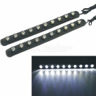 CARKING Waterproof Flexible Eagle-eye 10-LED White Car Decorative Daytime Running Light (12V/2PCS)