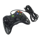 USB Wired Game Remote Controller for XBOX 360 - Black + Red
