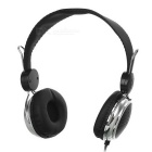 OVLENG 3.5mm Wired Headband Headphone w/ Mic / Remote - Black