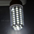 G9 7W 460lm 72-LED Bluish White Light Corn Lamp w/ Transparent Cover