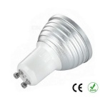 GU103WRemoteControlRGBLED180lmSpotlight(3шт/85В~256V)