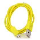 USB a Micro USB Data Cables Ronda - Amarillo ( 100cm / 4 PCS )