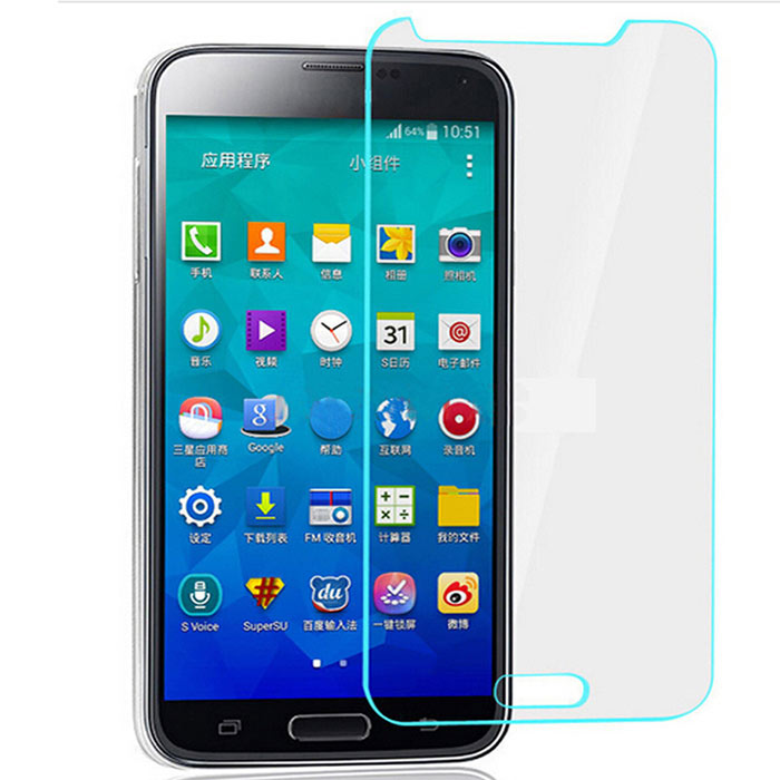 ASLING 0.26mm Tempered Glass Film for Samsung S5 Mini - Transparent
