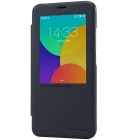 NILLKIN Protective PU Leather + PC Case for MEIZU MX5 - Black
