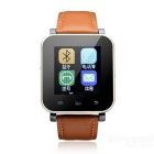 "V5 1.44"" Touch Screen Smart Watch w/ Anti Lost, Bluetooth, Pedometer - Brown"