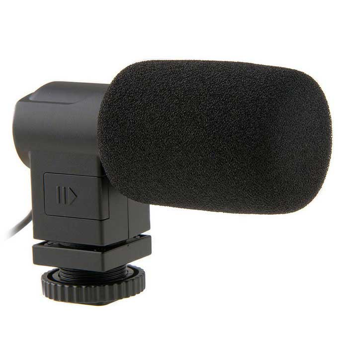 BOYA BY-V01 X/Y Mini Condenser Mic for Canon Nikon Sony DSLR CamerasOther Accessories<br>Form ColorBlackModelBY-V01MaterialABSQuantity1 DX.PCM.Model.AttributeModel.UnitCompatible BrandUniversalCompatible ModelUniversalCertificationCEOther FeaturesLine: 30cmPacking List1 x BOYA Microphone BY-V011 x Sponge Cover1 x Windshield1 x Velvet Bag1 x English user manual<br>