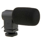 BOYA BY-V01 Stereo X/Y Mini Condenser Microphone Mic for Canon Nikon Sony DSLR Cameras Camcorders