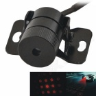 Car Football Shape Red Light Laser Fog Lamp / Anti Collision Laser Warning Light - Black